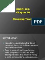 Bbpp1103 Chapter 10