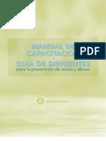 05.1 - Manual de Capacitacion - Prevencion Del Acoso y Abuso