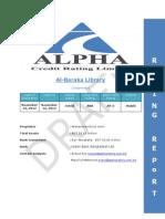 Al Baraka Libraryreport