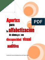 Aportes Para La Alfabetizacion de Alumn s Con Discapacidad Visual y Auditiva[1]
