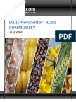 Daily Agri News Letter 16 July 2013