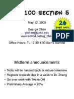 BIMM 110 Section 5 Slides
