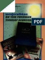 Menjernihkan Air Tuba Prasangka Terhadap Ahmadiyah-bani Soerahman