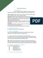 DW FAQs