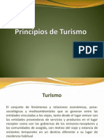Principios de Turismo
