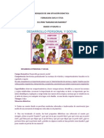 BOSQUEJO DE UNA SITUACIÓN DIDACTICAvarios fce