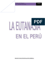 La Eutanasia - Informe