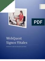 WebQuest            Signos Vitales