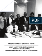 FAQs on the Revenue Generation and Wealth Sharing Annex