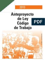 Anteproyecto Ley Codigo Trabajo Cuba 2013