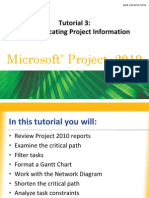 Using Microsoft Project Software to Validate Task