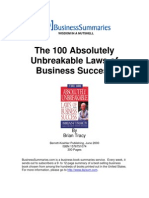 The100AbsolutelyUnbreakableLawsOfBusinessSuccess BIZ