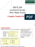 Complex Number Review