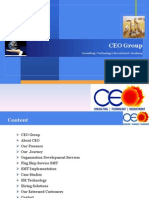 company Profile CEO Group of companies
