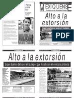 Versión impresa del periódico El mexiquense  16 julio 2013
