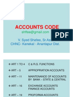 Accounts Code