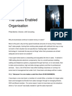 The Sales Enabled Organization