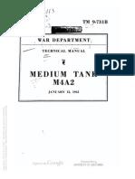 Tm 9-731B M4A2, 1943
