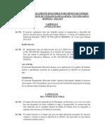 Reglamento Electoral Para Apafa