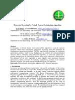 Reservoir Operation by PSO Algorithm-Meraji