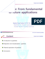 Graphene From fundamental-From fundamental to future applications .ppt