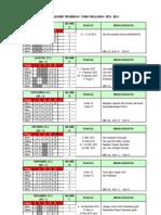 Kalender Pendidikan Tahun Pelajaran 2013 -2014
