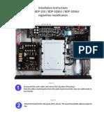 Installation Manual BDP-103