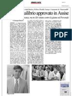 Rassegna Stampa 16.07.2013