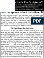 2010.06.23 - Misconceptions About Salvation - Part 3