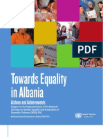 Towards equality in Albania