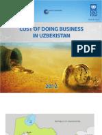 Cost of doing business in Uzbekistan