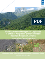 Wildfire management capacities for mountain forests of Armenia