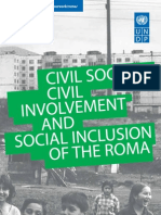 Civil society, civil involvement and social inclusion of the Roma