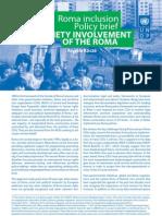 Policy brief - Civil society involvement of the Roma