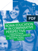 Roma education in comparative perspective