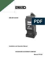 UG Actuator Manual 37512G