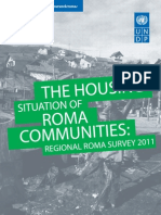 The housing situation of Roma communities