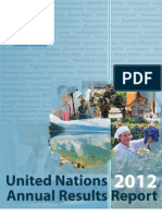 United Nations fYR Macedonia Activity Report 2012