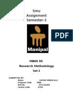 MB00 50-Research Methology