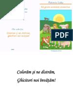 0 Carte de Colorat Ghicitori Animale Domestice