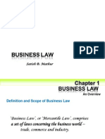 Chapter 1 business law English Mercantile Law  Statute Law  Case Laws or Judicial Decisions  Customs and Usages