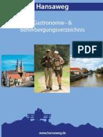 Gastronomie- und Beherbergungsverzeichnis Hansaweg