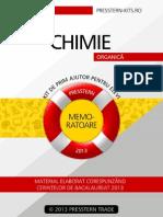 Presstern Memorator Chimie 2 Organica