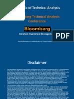 Bloomberg Presentation