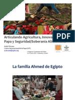 Seguridad alimentaria y nutrición en los Andes