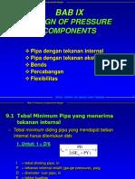 Bab 09 Design of Pressure Componets