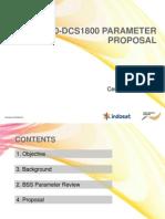 GSM-DCS Parameter Proposal Rev.2.0