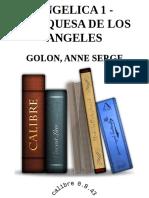 ANGELICA 1 - MARQUESA DE LOS ANGELES - Anne Serge Golon.epub