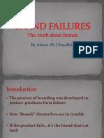BRAND Failures - Ahsan Ali