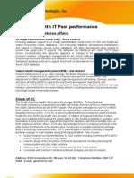 TSCTI_Health IT Past Performance